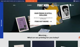 eCommerce website: Print.Work