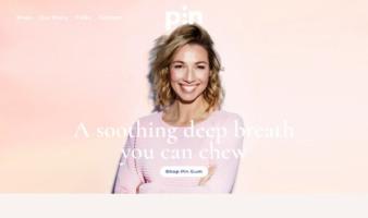 eCommerce website: Pin Gum