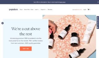 eCommerce website: Populum
