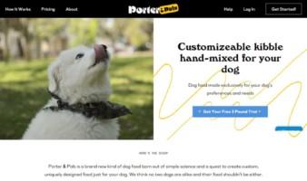 eCommerce website: Porter & Pals