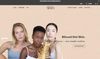 eCommerce website: Sdara