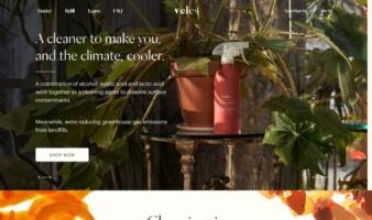 eCommerce website: Veles
