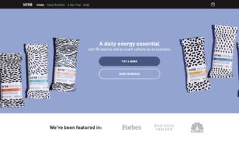 eCommerce website: Verb Energy