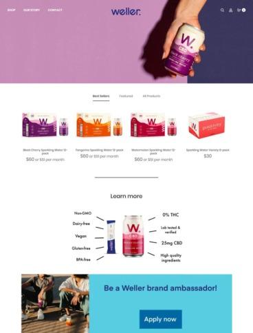 eCommerce website: Weller