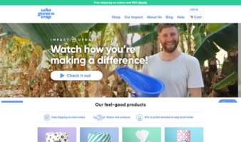 eCommerce website: Who Gives a Crap