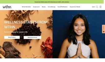 eCommerce website: WTHN