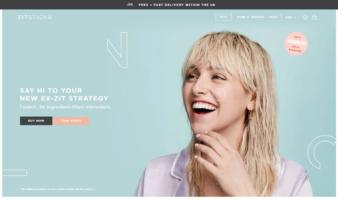 eCommerce website: ZitSticka