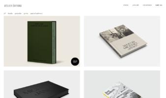 eCommerce website: Atelier Éditions