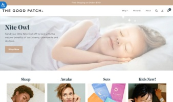 eCommerce website: The Good Patch