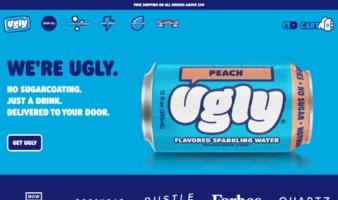 eCommerce website: Ugly Drinks