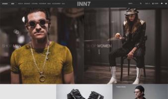 eCommerce website: INN7