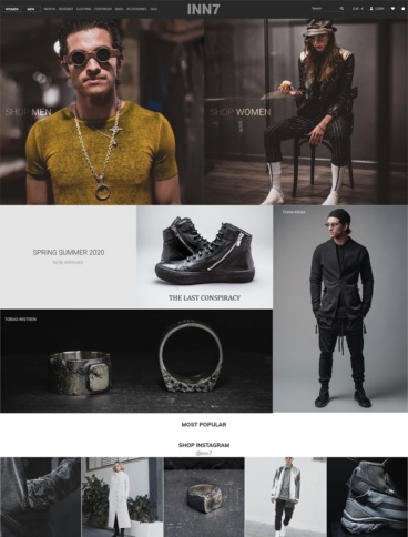 eCommerce website: INN7