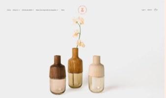 eCommerce website: Melanie Abrantes Design