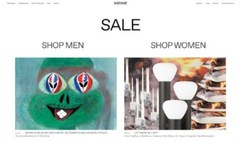 eCommerce website: SSENSE