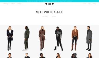 eCommerce website: TNT Fashion
