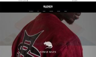 eCommerce website: Blends