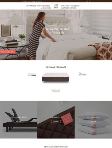 eCommerce website: Christeli