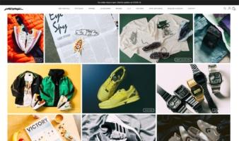 eCommerce website: Deadstock
