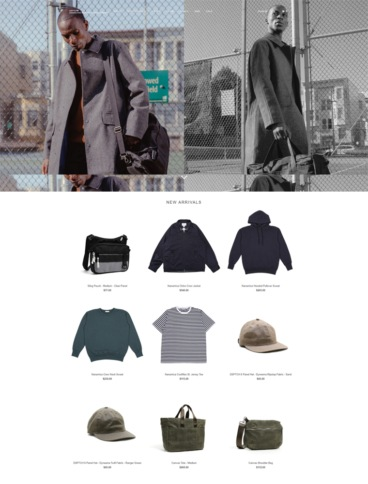 eCommerce website: DSPTCH