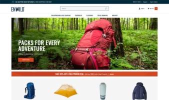 eCommerce website: Enwild