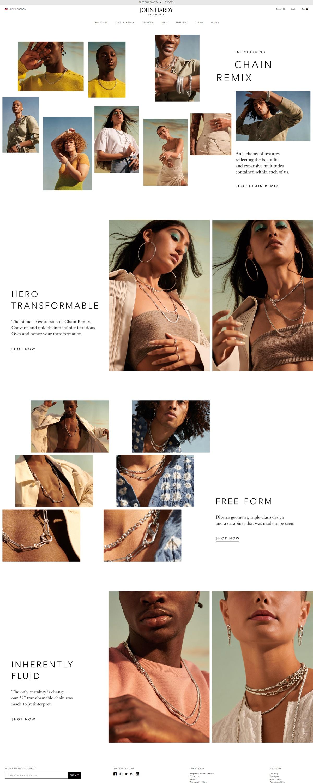 eCommerce website: John Hardy