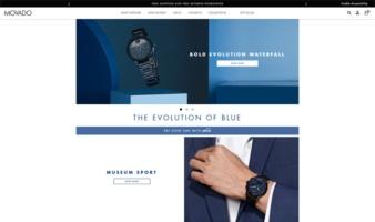 eCommerce website: Movado