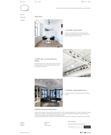 eCommerce website: Photato