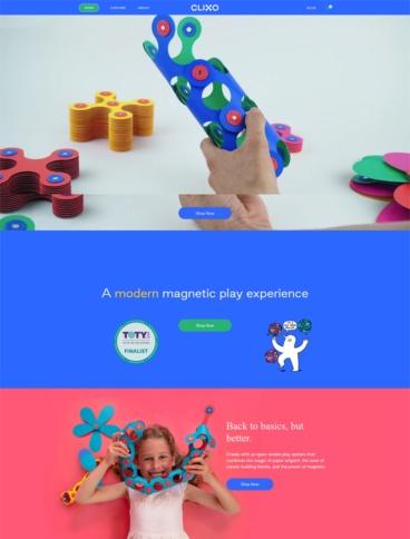 eCommerce website: Clixo