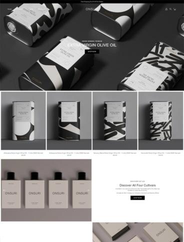 eCommerce website: Onsuri