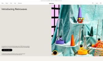 eCommerce website: Session Goods