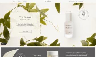 eCommerce website: Symbiome