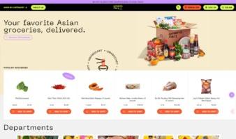 eCommerce website: Umami Cart