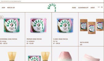 eCommerce website: Maratcha