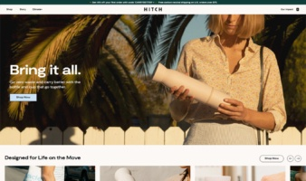 eCommerce website: Hitch