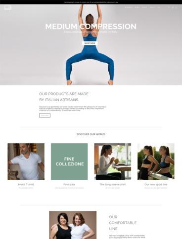 eCommerce website: CasaGIN