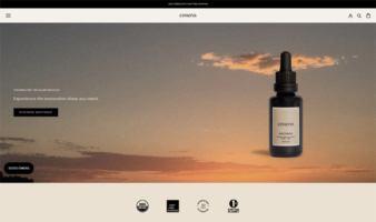 eCommerce website: Cerena