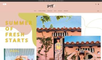 eCommerce website: Dazey LA