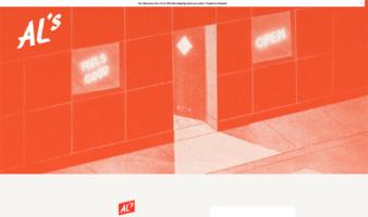 eCommerce website: AL's