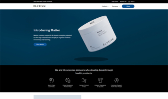 eCommerce website: Elysium