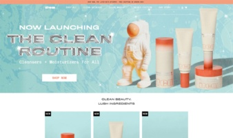 eCommerce website: ITEM Beauty