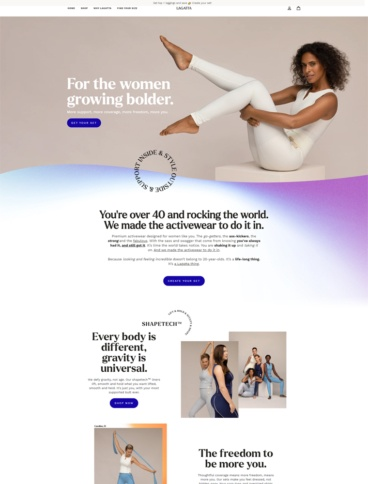 eCommerce website: Lagatta