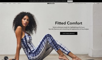 eCommerce website: Lamade