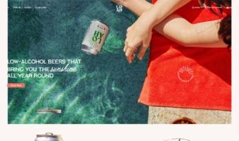 eCommerce website: Loah Beer