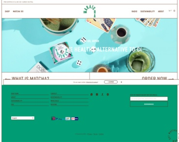 eCommerce website: Maratcha