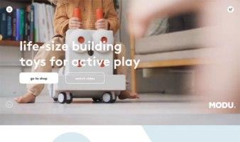 eCommerce website: MODU