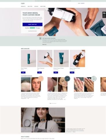 eCommerce website: Nøie