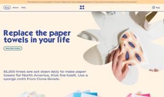 eCommerce website: Oona Goods