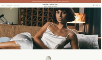 eCommerce website: Palm of Feronìa