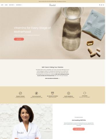 eCommerce website: Perelel