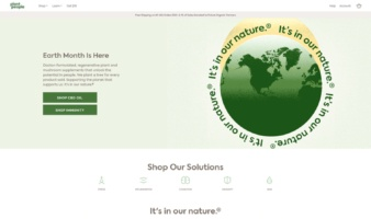 eCommerce website: Planet People
